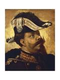 Portrait of Victor Emmanuel II Giclee Print by Girolamo Induno