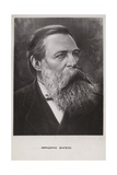 Friedrich Engels, German Social Scientist, Political Theorist and Philosopher Giclee Print