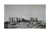 View of Island of Philae from Description of Egypt Giclée-Druck