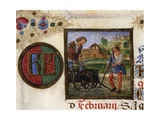 Month of February Giclee Print