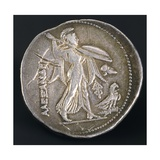 Silver Tetradrachm of Ptolemy I Soter Giclee Print