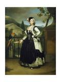 Portrait of Isabel Parreno Arce Ruiz De Alarcon Y Valdes Giclee Print by Anton Raphael Mengs