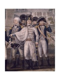 Nelson and La Fayette Giclee Print by John Francis Renault