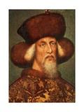 Portrait of Sigismund Giclee Print by Antonio Pisano