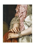 Portrait of Maria Luisa of Bourbon on the Occasion of Her Engagement to Be Married Giclee Print by Anton Raphael Mengs