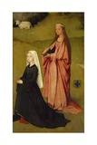The Principal Agnes Bosshuyse and St Agnes Giclee Print by Hieronymus Bosch