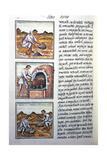 Gold Processing by Spanish Giclee Print by Bernardino De Sahagun