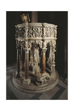 Pulpit of Cathedral of Pisa Giclée-tryk af Giovanni Pisano