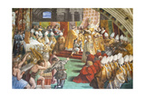The Coronation of Charlemagne Giclee Print