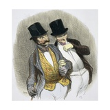 They Have Just Plucked Someone Reproduction procédé giclée par Honore Daumier