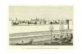 Partie De L'Enceinte De Charles V, Actuellement Jardin Du Palais-Royal, Voir Planche VI Giclee Print