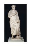Priest of Serapis Wearing Pallium and Sacerdotal Crown Statue Giclee Print