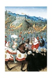 Genoese Citizens Imploring to Be Pardoned by Louis Xii Giclee Print by Jean Marot