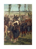 Second War of Independence - the Italian Field at the Battle of Magenta Giclee Print