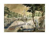 The Confederation of Dijon During the Feast of the Federation of the National Guard Giclee Print