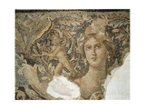 Mosaic Floor from a Roman Villa at Sepphoris Depicting Scenes from the Life of Dionysus Giclee Print
