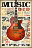Music is Passion Posters