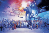 Star Wars - Complete Cast Posters