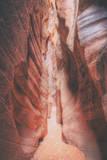 Between Slot Canyon Walls - Bucksin Gulch Photographic Print by Vincent James