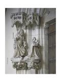 St John the Baptist and Philip II of Valois Giclee Print