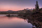 Sunset at Caples Lake, Sierra Nevada Photographic Print by Vincent James