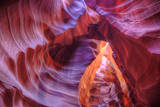 Beautiful Inner Earth, Antelope Canyon, Arizona Photographic Print by Vincent James