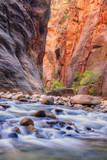 Inside The Narrows, Virgin River, Utah Photographic Print by Vincent James