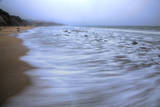 Milky Foggy Beachscape, Northern California Coast Photographic Print by Vincent James