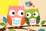 Sweet Owl - Hello Posters