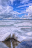 Yellowstone Lake in June Photographic Print by Vincent James