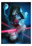 Darth Lady Poster by Gianluca Mattia