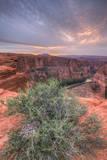 Sunset Landscape By The Colorado River, Page Arizona Photographic Print by Vincent James