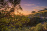Last Light at Mount Diablo, Northern California Photographic Print by Vincent James