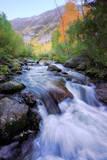 Bishop Canyon Creek Autumn Flow, Sierra Nevada Photographic Print by Vincent James