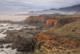 Misty Bluffs at Salt Point, Northern California Coast Photographic Print by Vincent James