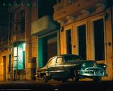 Cuba - Green Car Posters