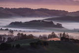 The Day Begins in the Petaluma Hills, Sonoma County Photographic Print by Vincent James