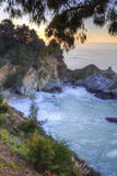 McWay Falls and Morning Light, Big Sur, California Photographic Print by Vincent James