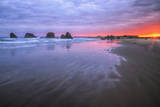 West Coast Sunrise, Bandon Beach, Oregon Coast Photographic Print by Vincent James