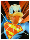 Super Duck Posters by Michael Loeb