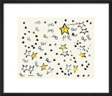So Many Stars, c. 1958 Framed Giclee Print by Andy Warhol