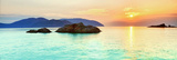 Ocean Sunrise - Con Dao Kunstdruck