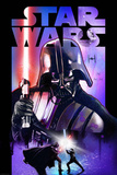 Star Wars - Darth Vader Lightsabre Kunstdrucke