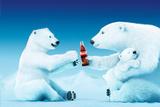 Coca-Cola - Polar Bear Trio Print