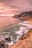 Warm Glow at Devil's Slide, Pacific Coast Highway Photographic Print by Vincent James