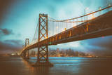 Blue Hour at San Francisco Bay Bridge Photographic Print by Vincent James