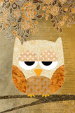 Sweet Owl - Antique Posters