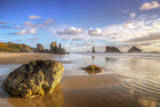 Ethereal Bandon Beachscape, Oregon Coast Photographic Print by Vincent James