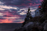 Magical Sunset at Bass Harbor Lighthouse, Maine Photographic Print by Vincent James