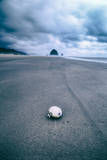 Morning Walk at Cannon Beach, Oregon Coast Photographic Print by Vincent James